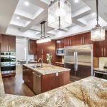Spectacular custom built home features an amazing kitchen.