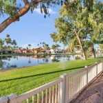 Lake view home in Palo Verde with a marvelous location.