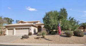 Enjoy your backyard oasis and live the good life in Sun Lakes, AZ