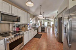The gorgeous kitchen at 10440 E Lambert Dr.