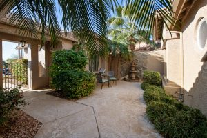 Under contract 1 day with a great courtyard.