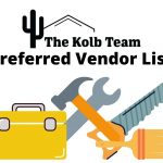 Spring home maintenance checklist with our preferred Vendor list.