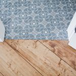 Flooring trends to love go bold and colorful.