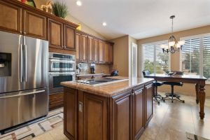 9202 E Crystal Dr has a fully remodeled kitchen.