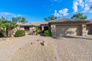 8936 E Copper Dr is stunning.